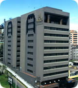 Quito hotels, Hotel Akros front