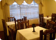 Hotels in Quito, Hotel Casa Quito dining room