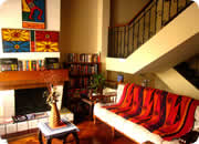 Hotels in Quito, Hotel Casa Quito living room