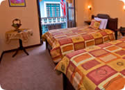 Quito Hotels, Catedral Internacional Hotel double room