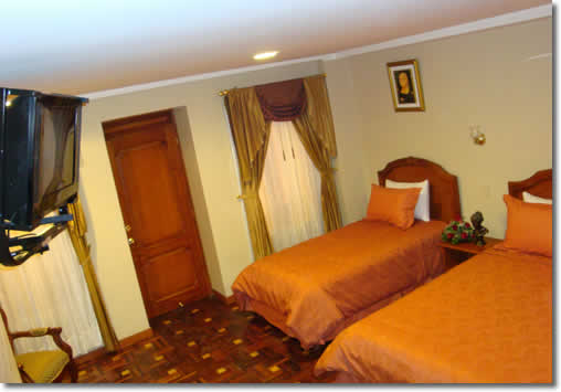 Hotels in Quito, Boutique Hotel Plaza Sucre double room