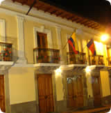 Quito hotels, Boutique Hotel Plaza Sucre fachada