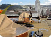 Quito hotels, Hotel Real Audiencia restaurant