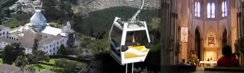 Quito tours, Valleys Tour-Shopping-Teleferico